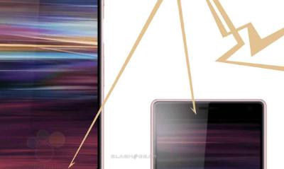 Xperia XA3手机的屏幕很长
