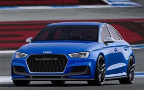 全电动奥迪RS3概念车拥有1180马力的电动方程式技术
