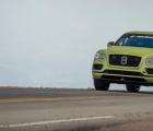 Bentley Bentayga在派克峰打破了生产SUV的记录