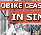 自行车共享运营商oBike将立即停止运营