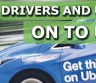 驱动程序和用户挂在Uber应用程序上
