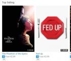 网站YouTube上提供电影租赁服务