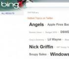 Bing和Google搜索集成Twitter结果
