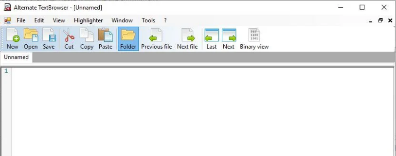 Textbrowser是一个免费的记事本