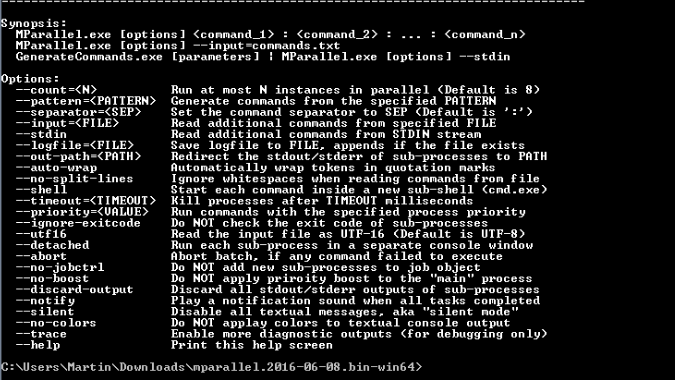 MParallel具有多线程支持的批处理处理器
