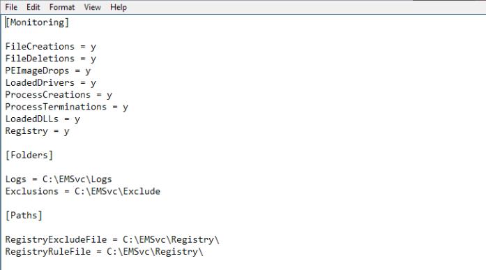 Windows事件监视器服务审查