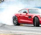 赛道上的梅赛德斯 AMG GT赛车360度全景