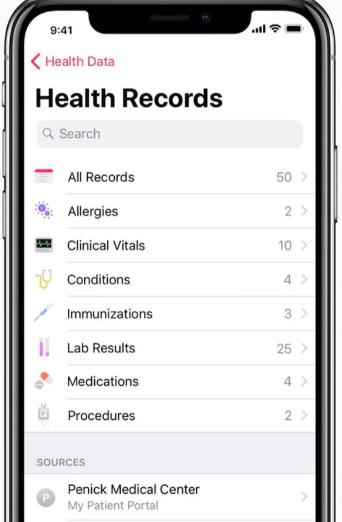 苹果倡导改善患者健康信息的共享和访问