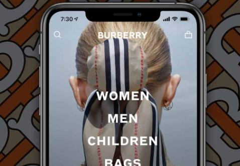 Burberry与Apple合作创建R Message工具