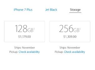 苹果开放iPhone 7预订Jet Black型号在几分钟内就销售一空