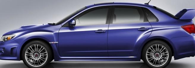 斯巴鲁重新推出WRX STI轿车