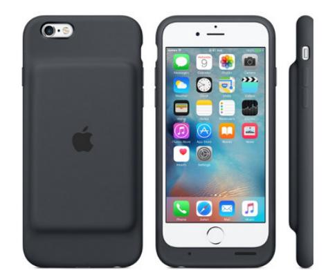 苹果推出首款iPhone 6s官方电池盒