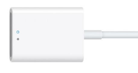 苹果发布改进的SD卡相机读卡器Lightning