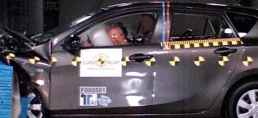 新马自达3在欧洲NCAP安全测试中获得最高五颗星