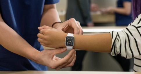 无需在商店尝试使用Apple Watch的约会