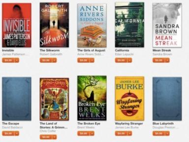 苹果宣传亚马逊不会出售的书籍