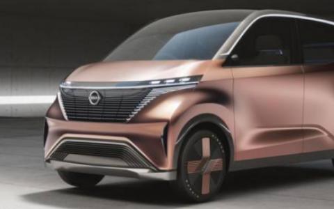 日产IMk概念车暗示了未来的电动汽车