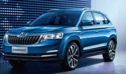 斯柯达卡米克SUV的官方图片和细节将在中国独家销售
