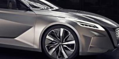 日产Vmotion 概念车在底特律发布