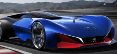 标致L500 R混合动力概念车发布