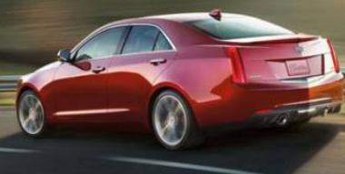 凯迪拉克已正式发布了ATS轿车的首张照片