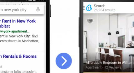 Google的新应用索引功能现在可以在Google搜索中建议应用