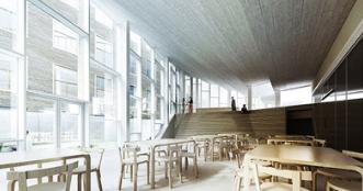 COBE揭晓丹麦红十字会获奖设计的志愿者之家设计