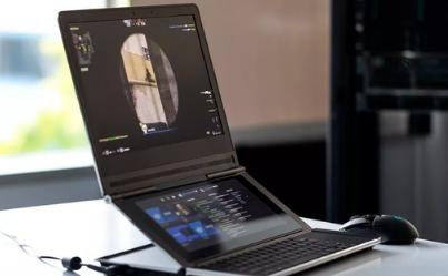英特尔推出了双显示屏游戏笔记本电脑的原型