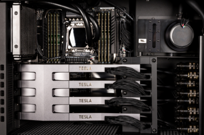有人发现基于下一代Ampere GA100 GPU的超级计算系统