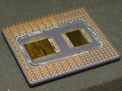 如何从英特尔奔腾Pro CPU中提取和回收金