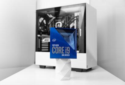 英特尔酷睿i9 10900K 10核CPU拥有令人印象深刻的超频器
