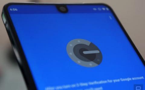 Google身份验证器Android版最终可以在设备之间移动帐户