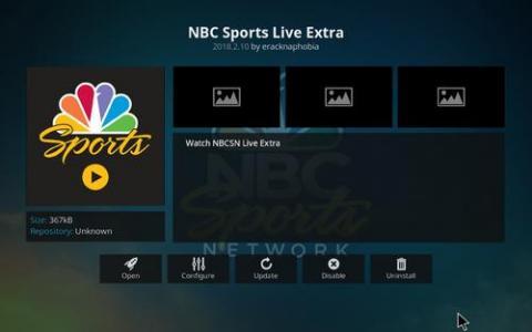 可用NBC和NBCSports应用程序的AppleTV也是如此