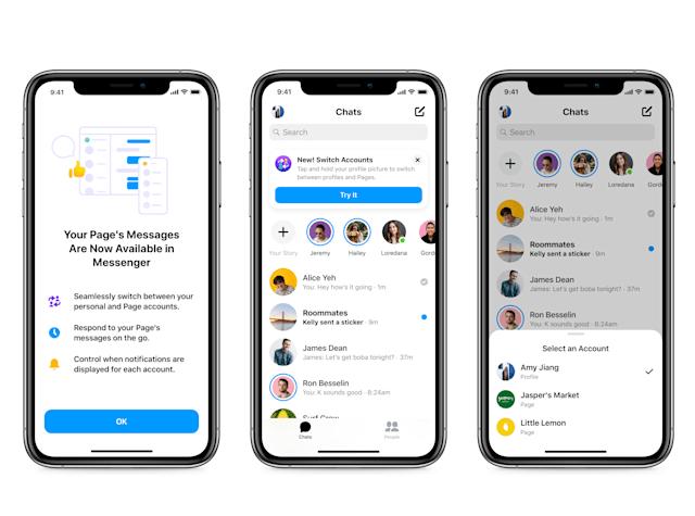 Facebook的小型企业工具中包括一个新的Messenger收件箱