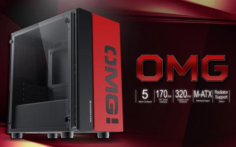 XIGMATEK宣布推出OMG mATX PC机箱