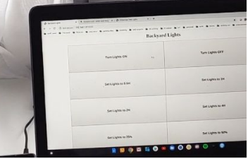 Raspberry Pi项目可让您从内部控制家中的后院灯