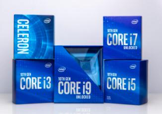 英特尔第10代Comet Lake台式机CPU现已开始预购