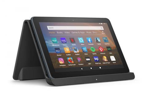 亚马逊最新的Fire HD 8平板电脑拥有更时尚的外观和无线充电功能