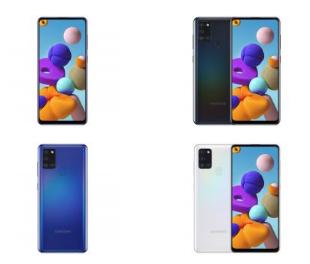 三星宣布推出Galaxy A21s智能手机