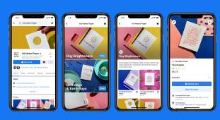 Facebook商店将业务页面转变为在线商店