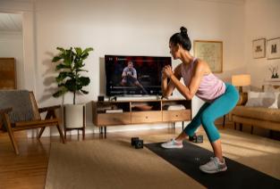Peloton的健身应用程序进入Apple TV
