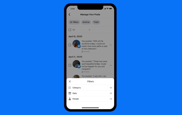 Facebook的管理工具有助于清理您的社交媒体历史记录