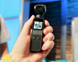DJI的Osmo Pocket云台相机在亚马逊上降至250美元