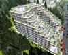 独特的公寓建设项目距离穆迪港离越来越近