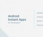 InstantApps通过将本机应用程序细分为几个小部分来工作
