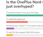 数据显示OnePlus Nord没有辜负宣传